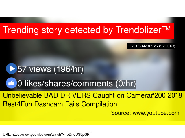 bad drivers caught on camera